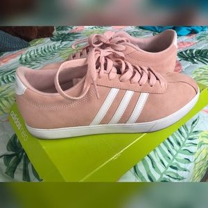 Adidas rose pink shoes